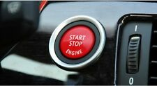 Start Stop Engine Button Switch Red Cover For BMW 3 5 Series E90 series