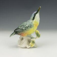 Vintage Karl Ens Volkstedt Porcelain - Bird Figurine - Slight Damage But Lovely!