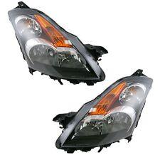 For Nissan Altima 07-10 Headlights Headlamps Sedan Pair Set Left & Right Halogen