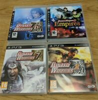 Dynasty Warriors 6 Empires 7 8 Sony Playstation 3 PS3 Game Bundle - Free P&P