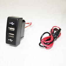 24V CRUSCOTTO DOPPIA USB PORTA INSERTO CARICABATTERIE PRESA LED per MERCEDES