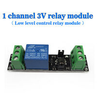(US) Single Channel 3V Relay Isolation Panels Low-level Control Relay Module