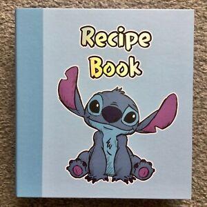 NEW Official DISNEY Stitch Angel Recipe Book Folder Planner Organiser Notes