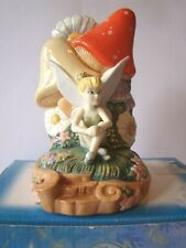 """Disney Fairies """"Dreamy Thoughts In Pixie Hollow"""" 2007 Royal Doulton porcelain"""
