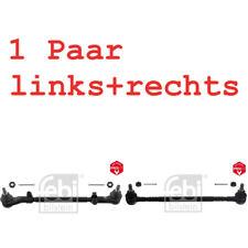2x FEBI BILSTEIN SET SPURSTANGE LENKSTANGE VORNE LI+RE VW LT 28-35 I LT 40-55 I