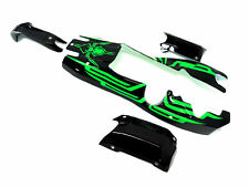 1/5 Rovan Baja Body Kit Black/Green Fits HPI Baja Gas Buggy 5B SS 2.0 King Motor