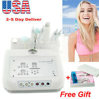 4 In 1 Microcurrent Diamond Micro Dermabrasion Ultrasound Skin Scrubber+ Gift US