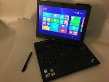 Lenovo ThinkPad X201 Laptop Tablet i7 8gb 512gb SSD Windows 10 stylus IPS