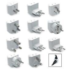 Ceptics 11pcs International Travel Adapter Plug Set - Grounded (CT-11PK )