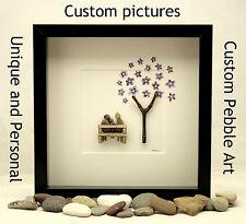 Pebble art custom order (personal, unique)