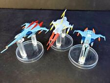 Tv Show Star Blazers Yamato Cosmo Fighters by Mechanical Cosmo Set of 3