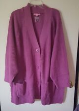 WOMENS PLUS SIZE 6X 38/40 TOP SWEATER NEW IN BAG TUNIC WOMAN WITHIN