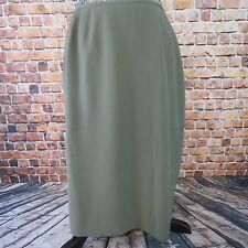 Preston & York Woman Skirt Pencil  Size 14 Career Olive Green