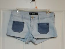Woman's size 5 W27 Hollister short-short low rise shorts NWT