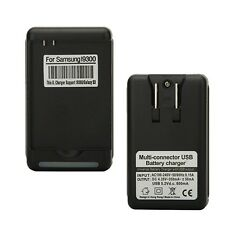 USB Battery Charger Adapter for Samsung Galaxy S 3 I9300 Black