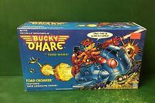 "1990 The S.P.A.C.E. Aventures Of Bucky O'Hare ""TOAD CROAKER"" NIB By Hasbro"