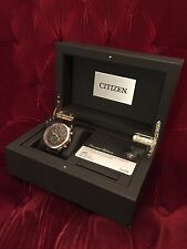 Excellent Citizen AT8013-17E Eco-Drive Limited Edition World Chronograph Watch