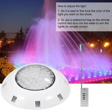 25W 12V 360 LED RGB Lampe Sous-marine Lumière Eclairage Piscine Imperméable