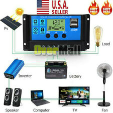 New listing 20A Pwm Solar Panel Regulator Charge Controller Auto Focus Tracking 12V/24V