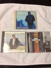 Bruce Springsteen 3 CD LOT The Rising Tunnel Of Love Streets of Philadelphia