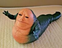"""1997 Kenner Star Wars """"JABBA THE HUTT"""" Toy Action Figure: Head, Arms & Tail Move"""