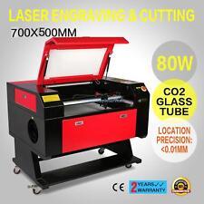 80W USB CO2 Laser Machine à Graver Coupe Coupeur Contrôle Fraisage Engraver Tube
