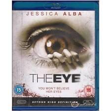 BLU-RAY EYE, THE Jessica Alba RARE BLU-RAY COVER Thriller Suspense REGION B [LN]