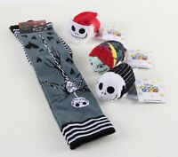 Brand New - Disney Nightmare Before Christmas Tsum Tsum Plush & Socks Bundle
