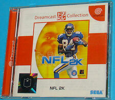 NFL 2K - Dreamcast Collection Dori Kore - Sega Dreamcast DC - JAP Japan