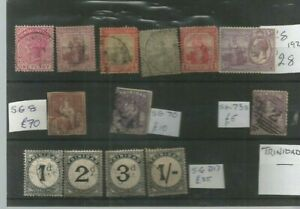 TRINIDAD & TOBAGO OLD STAMPS