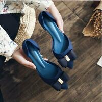 pointed high heels fashion sandals multicolor bow casual shoes flowers shoes
