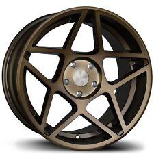 Avid1 AV52 17X9 Rims 5x100 +30 Bronze Wheels (Set of 4)