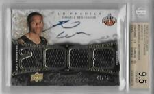 2008-09 Russell Westbrook UD Premier Auto Jersey RC- BGS 9.5 Gem Mint- #45/75