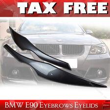 Painted A22 BMW E90 3-SERIES 4DR Sedan HEADLIGHT EYEBROWS EYELIDS §