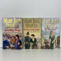 3 Lot Mary Jane Staples-The Way Ahead, The Ghost of Whitechapel, Spreading Wings