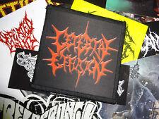 Cerebral Effusion Patch Death Metal Lividity Waco Jesus