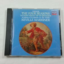 VIVALDI The Four Seasons Loveday ASMF Marriner Argo CD 1985 Decca Simon Preston