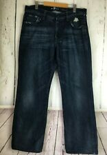 Seven for all mankind Relaxed Dark Wash Size 34X32