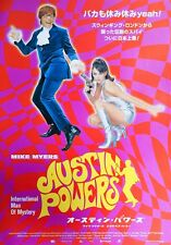 Austin Powers Int. Man of Mystey 1997 Japanese Chirashi Mini Movie Poster B5