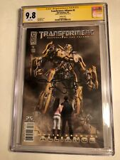 CGC SS 9.8 Transformers: Alliance #3 Variant signed by Megan Fox Movie