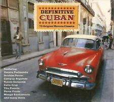 Definitive Cuban - 75 Original Havana Classics (3CD 2010) NEW/SEALED