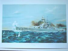 Randall Wilson 'THE BATTLE OF THE RIVER PLATE' GRAF SPEE ARTIST'S PROOF