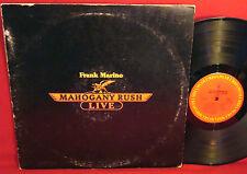 FRANK MARINO & MAHOGANY RUSH Live 1978 CLASSIC ROCK LP