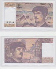 GERTBROLEN  20 FRANCS ( DEBUSSY ) de 1989  B.024 Billet N°  0576193344