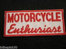 Motorcycle Enthusiast Nomad Jacket Vest Independant Biker Patch No Club Biker