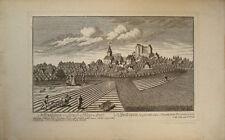 1760 Hiltpoltstein Forchheim Franken Bayern Kupfer-Gesamtansicht  C. M. Roth