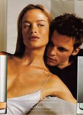 PUBLICITE ADVERTISING 2001 CALVIN KLEIN  Contradiction