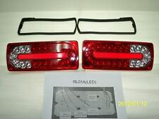 FULL LED TAIL LAMPS LIGHTS Rear Lamps RED&CLEAR Fits Mercedes Benz W463 G Class