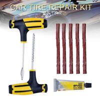 Kit de réparation de crevaison de pneu tubeless de moto de fourgon de voiture DE