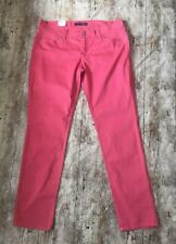Levi Strauss & Co 32 W 33 L 'Too Superlow'  524 Coral Jeans/Chinos Women's BNWT